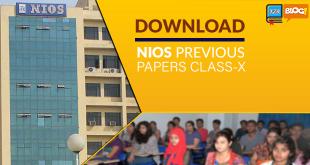 nios previous paper for class 10th